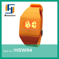 2015 new product alibaba china LED watch Touch Screen