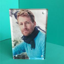Custom clear acrylic poster frame