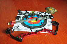 Red version Hunting bow&arrow set,Red hunting compound bow,bow and arrow set,archery set
