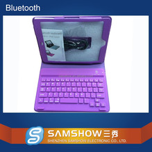 Rugged Silicone Material Oem Tablet Pc Leather Case Silicone Wireless Bluetooth Folio Slim Keyboard For Ipad Mini