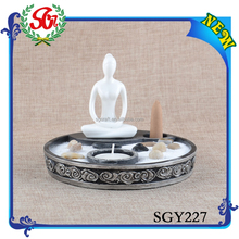 SGY227 Diy Wholesale Craft Supplies,Yoga Candle Holder Home Decor