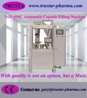 NJP-800 Small Automatic Capsule Filling Machine capsule filler for pharmaceutical food factories