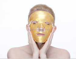 OEM Hydrating,Moisturizing,Anti-aging And Anti-wrinkle &Whitening 100% Herbal Ingredients Gold Collagen Crystal Facial Mask