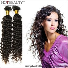 Power Supply For Popular Hair Extension, 100% Virgin Human Brazilian Hair,Wholesale Price Curly Hair Weave