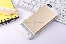 Top quality hot-sale leather cover for iphone 6 battery case