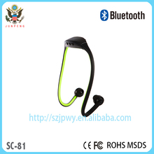 Hot new patent products New design E-Marketing Wireless Universal Stereo neckband sport with loudspeaker V4.0