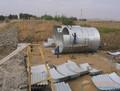 Montado de acero corrugado tubo de alcantarilla, de metal corrugado tubo de alcantarilla, alcantarilla de drenaje