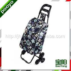 portable folding shopping trolley bag with wheels black bottle sleeve