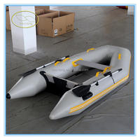 Cheap zodiac inflatable rescue boat /Inflatable Boat Set with aluminum Oars and Air Pump,electric inflatable boat