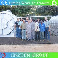 JINZHEN Brand extracting machine using waste tyre with professional design team