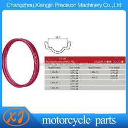 cnc machining MT model 36 spoke motorcycle wheel rim