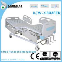 Guangdong manual folding medical bed,operating bed,bed hospital