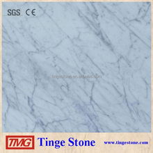 Good quality carrara white marble floor tile prices For Sale