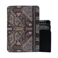 Hot new imports new design back cover for ipad air 2 ipad 6 pu leather printing case