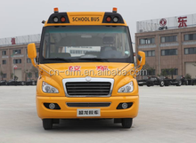 Chinese Dongfeng 50 seats school bus yellow school bus for sale