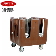 Adjustable Kitchen Plastic Plate Caddy