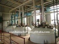 Wanda sell 10-30Ton/day castor/flax/hemp oil processing equipment