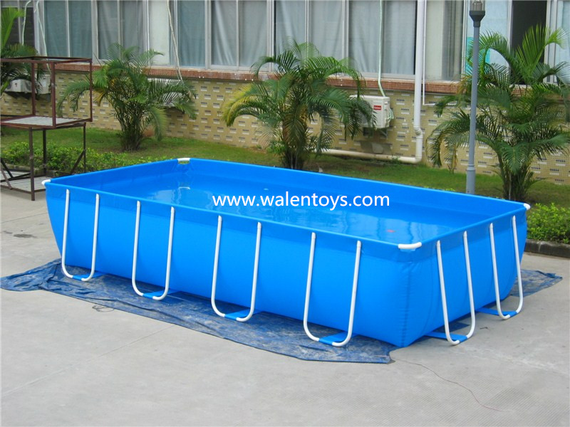 Moldura retangular piscinas bestway piscina arma o de for Piscina plastico rectangular