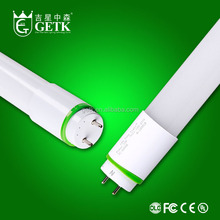 LED 18W T8 tube, 1,200mm, single side 240V AC power connection with LED protection device (starter replacement), frosted cover