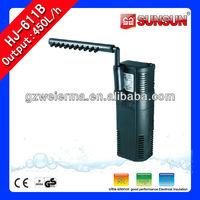 6W 450L/h HJ-611B aquarium filter material