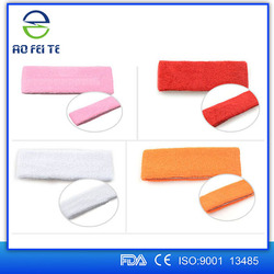 Shijiazhuang Aofeite Medicial Sports Elastic Cotton/Nylon Basketball Head Sweat Band