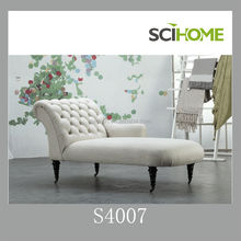 Noble french antique outside curved back hand craft design sofa outside curved back chaise lounge furniture