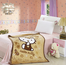 Nice Cat Print Bedding Sheets for Kids sleeping Blankets collection