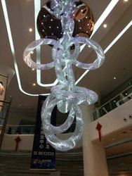 Project all crystal ball big size hotel cristal chandelier