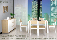 2015 Regular Bamboo dining sets with tables and chairs