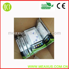 Free Shipping 20000 mah Universal Power Bank, USB External Battery Charger Double USB Output and Oriental Flower