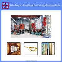 High vacuum pvd chrome coating machine / titanium plating equipment