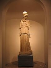 Athena ancient greek sculpture