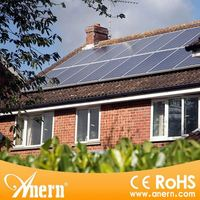 Complete off grid 2KW home solar system with solar battery backup