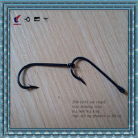 2518 blue fishing hook for Africa market fish hook