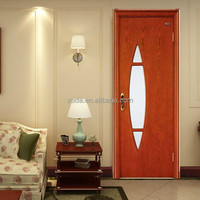 Single or double wood flush door design