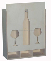 cheap wood case for wine bottle