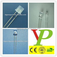 low price 5mm flat top white led widely usage