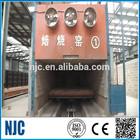 Forno túnel para oco e sólida produção de tijolos de argila linha