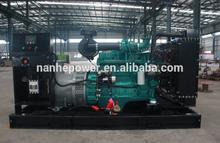 Tipo abierto China Genset 320kw con el famoso motor Diesel