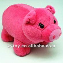Shenzhen Hot Selling Pink plush pig