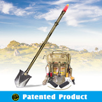 Emergency Preparedness Supplies Car Safety Kit Multifunction Shovel With Led Tactical Light