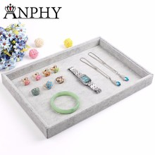A04-1 ANPHY, High Grade Jewelry Tray Oem Jewelry Display Jewelry Materials Velvet