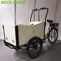 CE approved Danish bakfiets family children china triciclo electrico