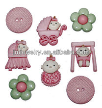 2015 New Top fashion DIY craft button kit for girl style