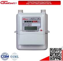 IC card prepaid diaphragm smart gas meter