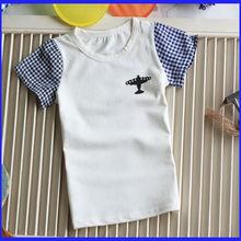 wholesale fashion design children t-shirt,Korea children cotton t-shirt,children t-shirt
