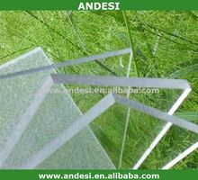 UV clear plastic polycarbonate sheet roof panel