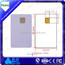 Factory price 125Khz/13.56Mhz/RFID hotel key card/contactless smart card/blank smart card from China supplier