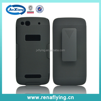 hard plastic material holster combo swivel belt clip case for Alcatel One Touch Idol Alpha/6032