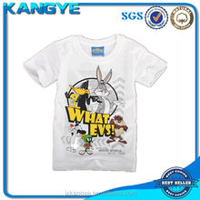 Warner's images cotton t shirt with Bugs Bunny and Daffy Duck printing